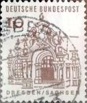 Sellos de Europa - Alemania -  Intercambio 0,20 usd 10 pf. 1965
