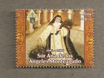 Stamps of the world : Peru :  Sor Ana de los Angeles Monteagudo