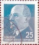 Sellos de Europa - Alemania -  Intercambio 0,20 usd 25 pf. 1963