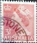Stamps Australia -  Intercambio 0,40 usd 3,5 p. 1953