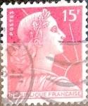 sellos de Europa - Francia -  Intercambio 0,20 usd 15 fr. 1955