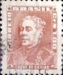 sellos de America - Brasil -  Intercambio 0,20 usd  1,00 cr. 1954