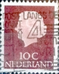 Stamps : Europe : Netherlands :  Intercambio 0,20 usd  10 cents. 1953
