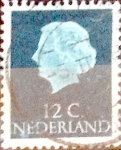 Stamps Netherlands -  Intercambio 0,20 usd  12 cents. 1953