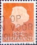 sellos de Europa - Holanda -  Intercambio 0,20 usd  30 cents. 1953