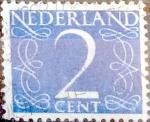 Sellos de Europa - Holanda -  Intercambio 0,20 usd  2 cents. 1946
