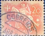 Sellos de Europa - Portugal -  Intercambio 0,20 usd  20 cents. 1953
