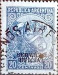 Sellos de America - Argentina -  Intercambio 0,20 usd  20 cents. 1951