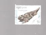 sellos de Asia - Camboya -  lagarto
