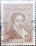 Sellos de America - Argentina -  Intercambio 0,20 usd  10 cents. 1942