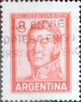 sellos de America - Argentina -  Intercambio 0,20 usd  8 pesos 1965