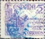 Sellos de Europa - España -  Intercambio 0,20 usd  5 cents. 1949