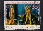 Stamps Asia - Yemen -  ciudad olimpica Munich 1972