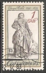 Sellos de Europa - Checoslovaquia -  Jacques collet