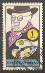 Stamps Czechoslovakia -  Henri Matisse