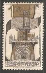 Sellos de Europa - Checoslovaquia -  8º Congreso de la Unión Internacional de Arquitectos
