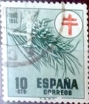 Stamps Spain -  Intercambio 0,20 usd 10 cents. 1950