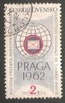 Stamps Czechoslovakia -  EXPOSICIÓN PRAGA 1962