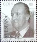 Sellos de Europa - España -  Intercambio 0,20 usd 1 cent. 2002