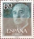Sellos de Europa - España -  Intercambio 0,20 usd 80 cents. 1954