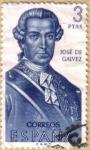 Sellos de Europa - España -  Jose de Galvez