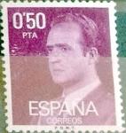 Sellos de Europa - España -  Intercambio 0,20 usd 50 cents. 1977