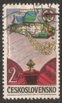Stamps Czechoslovakia -  Programa espacial