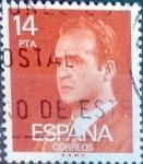 sello : Europa : España : Intercambio mas 0,20 usd 14,00 ptas. 1982