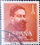 sellos de Europa - España -  Intercambio 0,20 usd 1,00 pta. 1960