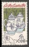 Sellos de Europa - Checoslovaquia -  Tradicional porcelana checa