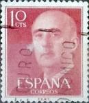 Sellos de Europa - España -  Intercambio 0,20 usd 10 cents. 1954