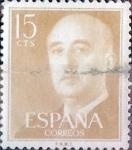 Sellos de Europa - España -  Intercambio 0,20 usd 15 cents. 1954