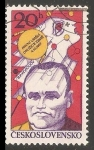 Sellos de Europa - Checoslovaquia -  Serguéi Koroliov