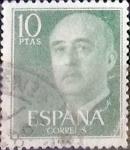 sellos de Europa - España -  Intercambio 0,20 usd 10,00 ptas. 1955