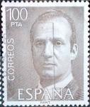 sellos de Europa - España -  Intercambio 0, 20 usd 100 ptas. 1981