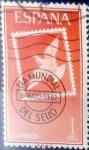 Stamps Spain -  Intercambio 0, 20 usd 1 pta. 1961