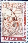 Sellos de Europa - España -  Intercambio 0, 20 usd 25 ptas. 1991