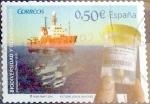 sellos de Europa - España -  Intercambio 0,50 usd 50 cents. 2011