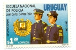 Stamps America - Uruguay -  ESCUELA NACIONAL DE POLICIA