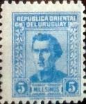 Sellos del Mundo : America : Uruguay : Intercambio 0,25 usd 5 m. 1958
