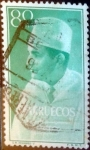 Sellos del Mundo : Africa : Marruecos : Intercambio 0,20 usd 80 cents. 1956