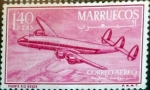 Sellos de Africa - Marruecos -  Intercambio cr2f 0,20 usd 1,40 ptas. 1956