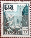 Stamps : Europe : France :  Intercambio 0,20 usd 15 francos 1954