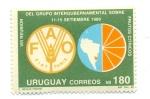 Sellos del Mundo : America : Uruguay :  VIII REUNION DEL GRUPO INTERGUBERNAMENTAL SOBRE FRUTOS CITRICOS