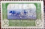sello : Europa : España : Intercambio 0,20 usd 30 cents. 1944