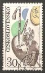Sellos de Europa - Checoslovaquia -  Gaita