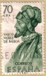 Stamps Europe - Spain -  Vasco Nuñez de Balboa