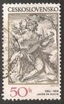 Sellos de Europa - Checoslovaquia -  Jacob de Gheyn II