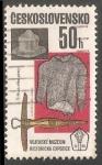 Stamps Czechoslovakia -  Exposicion del Museo militar
