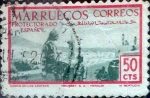 Stamps Spain -  Intercambio cr3f 0,20 usd 50 cents. 1952